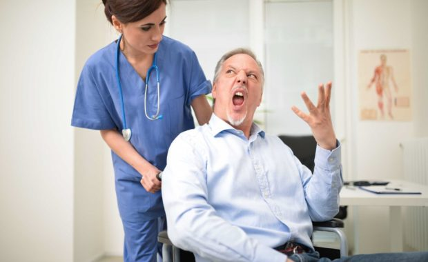 De-escalating Verbal Aggression from Patients (AGILPERSEC006)